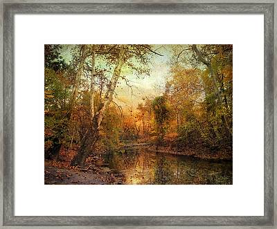 Autumnal Tones Framed Print by Jessica Jenney