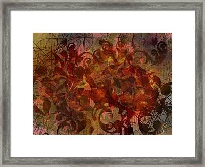 Autumnal Waning Framed Print