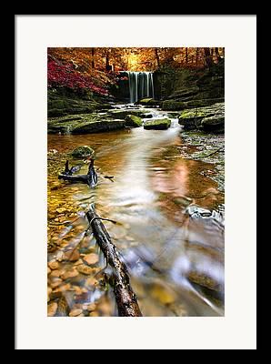 Beauty Creek Framed Prints