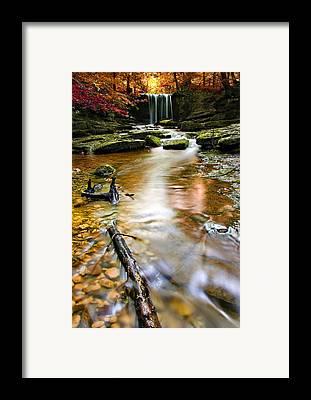 Beautiful Creek Framed Prints