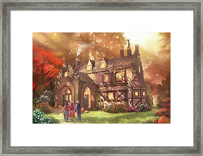 Autumnhollow Framed Print