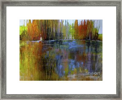 Autumn's Caress Framed Print
