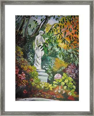 Autumn's Colours Framed Print by Alina Blaszczyk