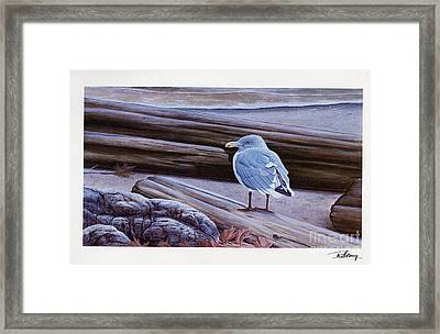 Autumn's Expression Framed Print