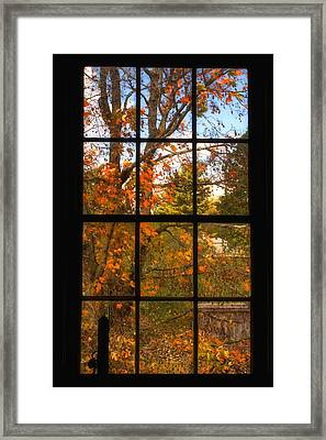 Autumn's Palette Framed Print by Joann Vitali
