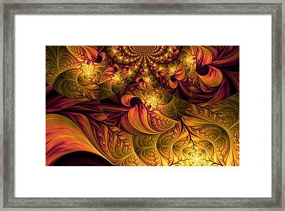 Autumns Winds Framed Print