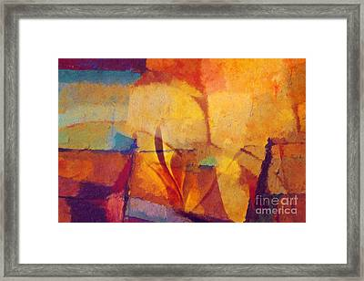 Autunno Stagione Framed Print