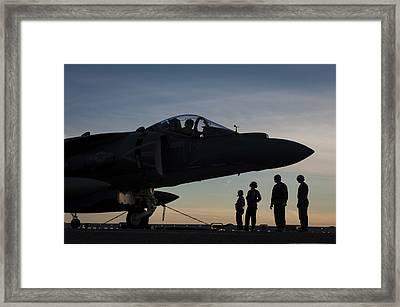 Av-8b Harrier Us Navy Framed Print by Celestial Images