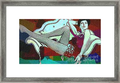 Ava Gardner - Pop Art Framed Print