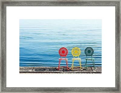 Available Seats Framed Print by Todd Klassy