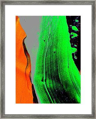 Avalanche  1 Framed Print by Teo Santa