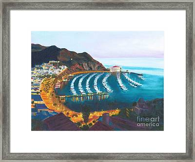 Avalon At Sunrise Framed Print by Nicolas Nomicos