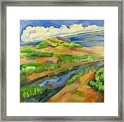 Avalon Dunes  Framed Print