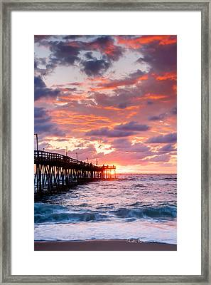 Avalon Pier 9683 Framed Print