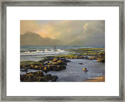 Avalon Point Framed Print by Jeanne Newton Schoborg