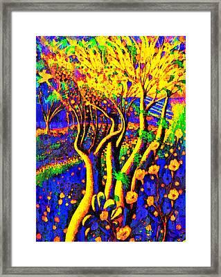 Avatar Forest - Pa Framed Print