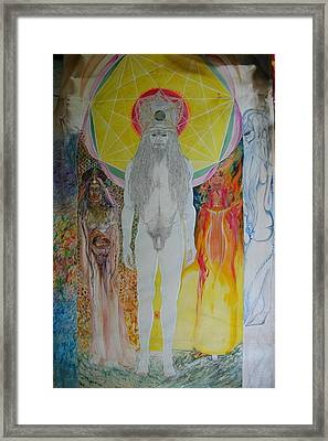 Avatari Framed Print