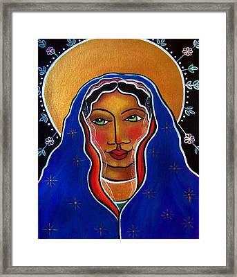 Framed Print featuring the painting Ave Maria by Jan Oliver-Schultz