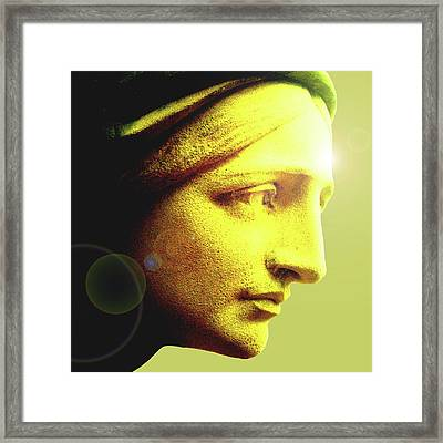Ave Maria No. 01 Framed Print by Ramon Labusch