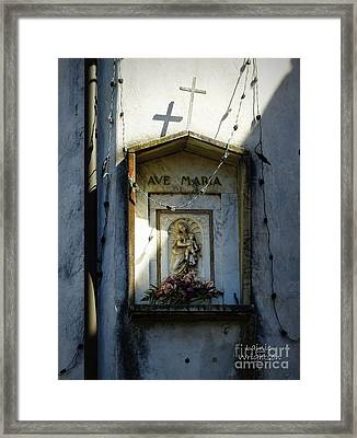 Ave Maria Shrine Framed Print