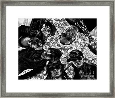Avenged Sevenfold Framed Print by Kathleen Kelly Thompson