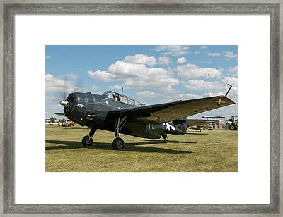 Avenger  Framed Print by Aircraft  In Motion