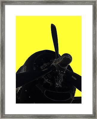 Avenger Framed Print by Julio Lopez
