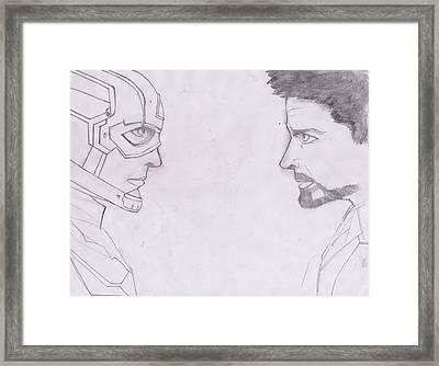 Avengers Framed Print by AG Suelto