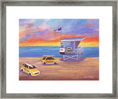 Framed Print featuring the painting Avenue C by Jamie Frier