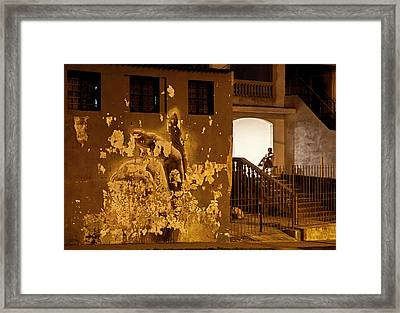 Framed Print featuring the photograph Avenue De Los Presidentes Havana Cuba by Charles Harden