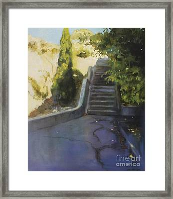 Avenue Gravier - The Shortcut Framed Print