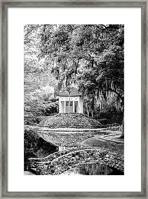 Avery Island Buddha Framed Print by Scott Pellegrin