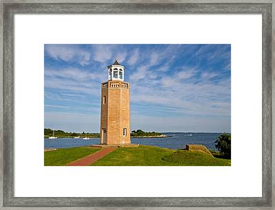 Avery Point Lighthouse Framed Print