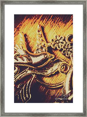 Avian Decor Framed Print