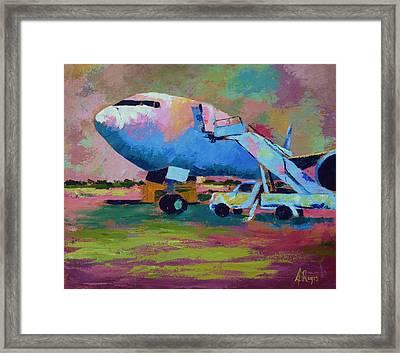 Aviation Ground Handling 1 Framed Print