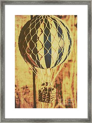 Aviation Nostalgia Framed Print by Jorgo Photography - Wall Art Gallery