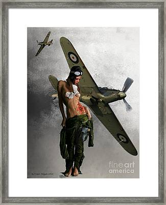Aviator Framed Print by Crispin  Delgado