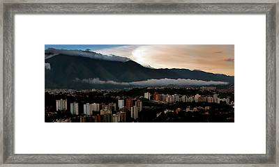 Avila At Sundown Framed Print