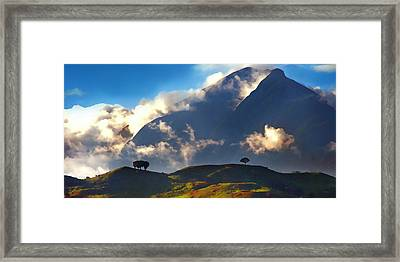 Avila From The East Framed Print