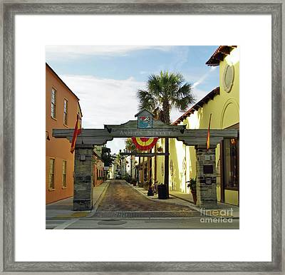 Aviles Street Framed Print