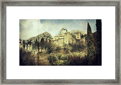Avio Castle Framed Print by Vittorio Chiampan