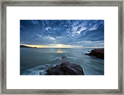 Avoca Morning Framed Print by David Benson