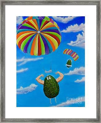 Avocado's From Heaven Framed Print