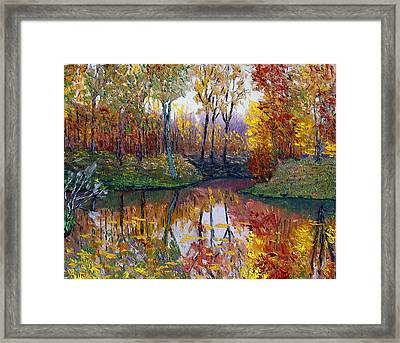 Avon 11-1 Framed Print by Stan Hamilton