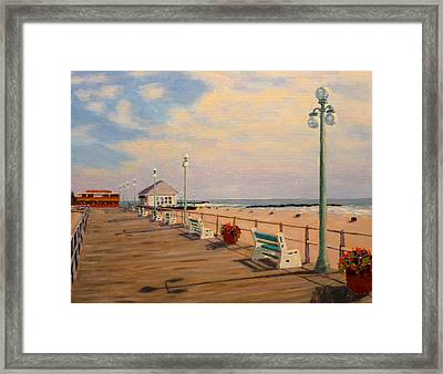 Framed Print featuring the painting Avon Pavilion by Joe Bergholm