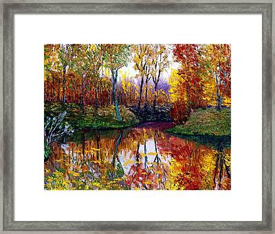 Avon Framed Print by Stan Hamilton