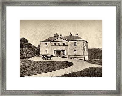 Avondale, County Wicklow, Ireland. The Framed Print by Vintage Design Pics