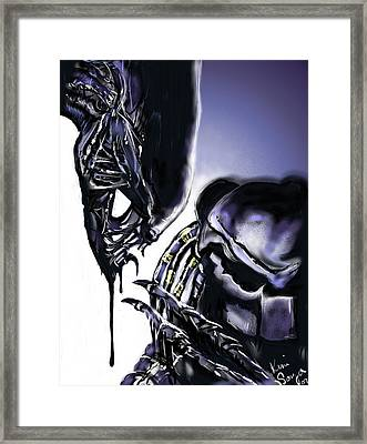 AVP Framed Print by Kim Souza
