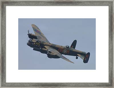 Framed Print featuring the photograph Avro Lancaster B1 Pa474  by Tim Beach