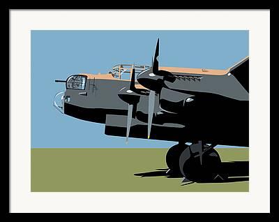 Avro Lancaster Framed Prints